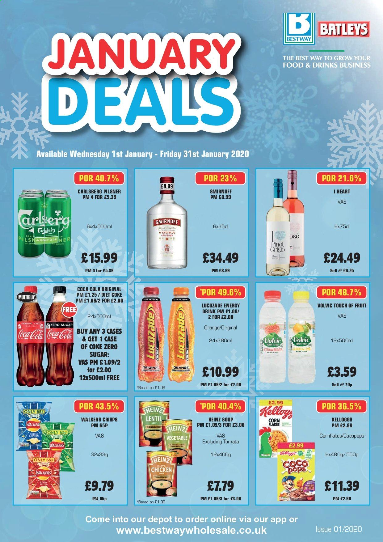 Bestway offer  - 1.1.2020 - 31.1.2020. Page 1.