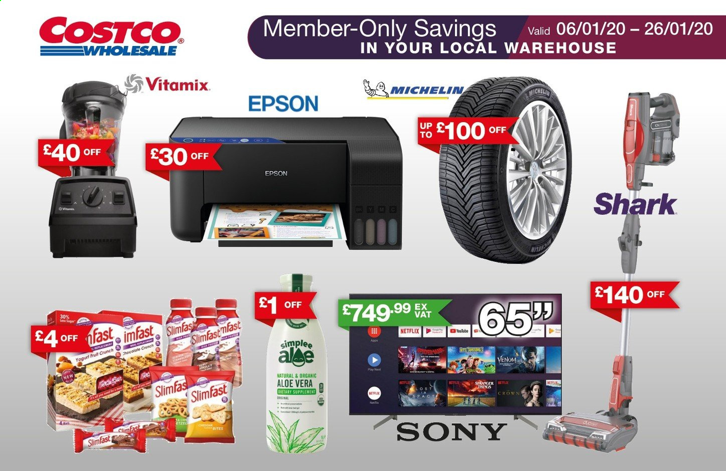 Costco offer  - 6.1.2020 - 26.1.2020. Page 1.