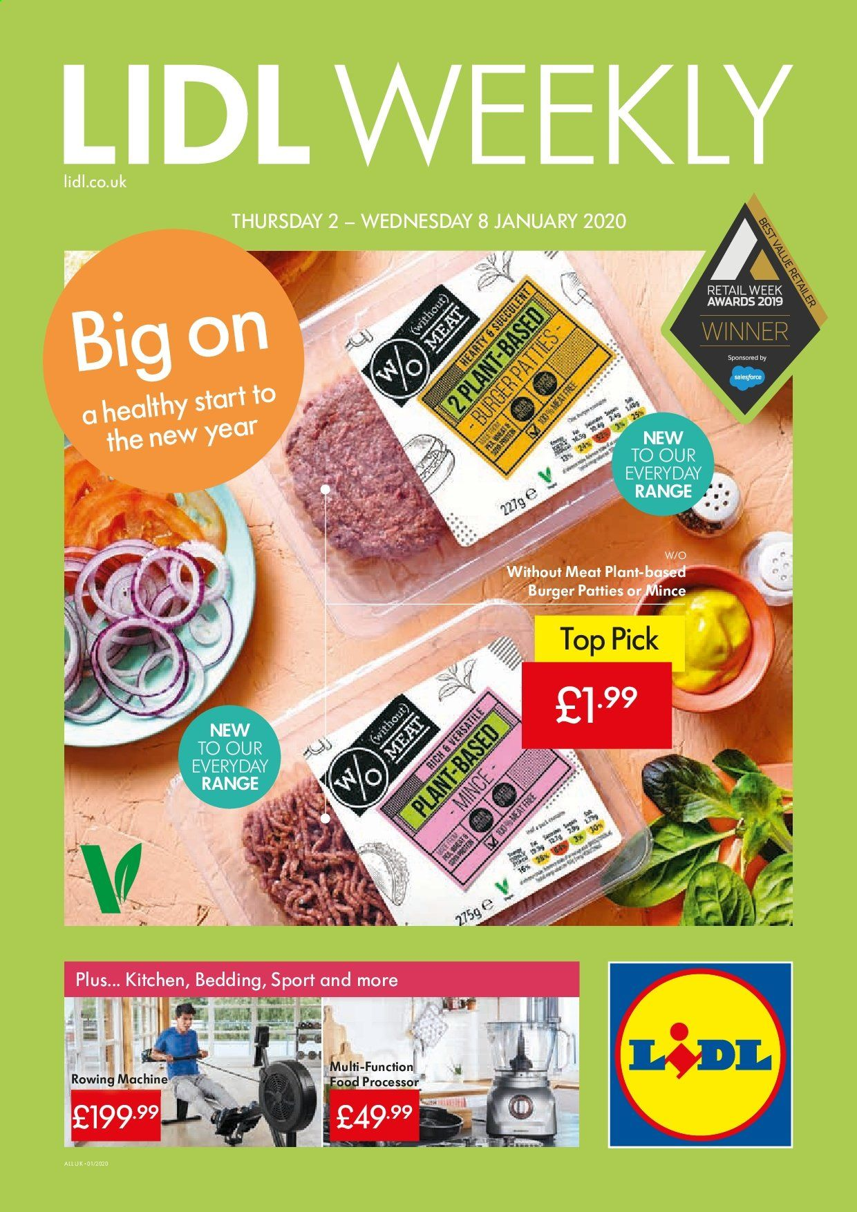 Lidl offer  - 2.1.2020 - 8.1.2020. Page 1.