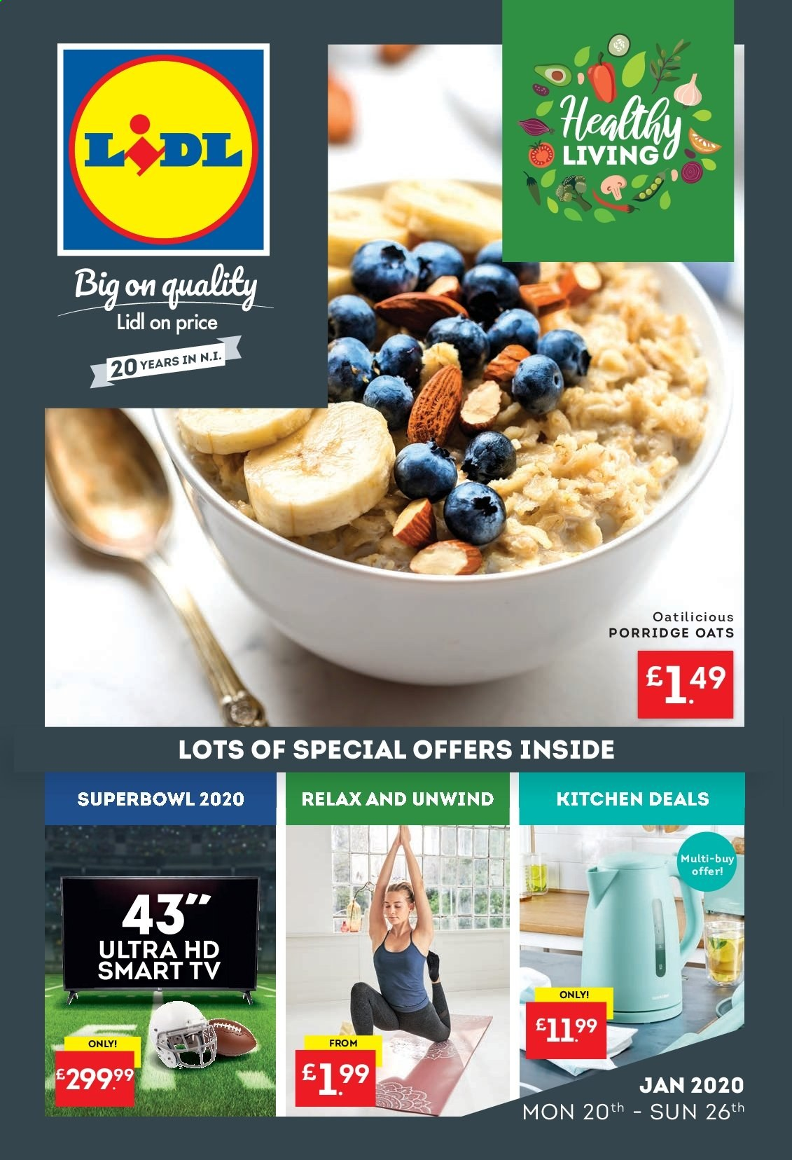 Lidl offer  - 20.1.2020 - 26.1.2020. Page 1.