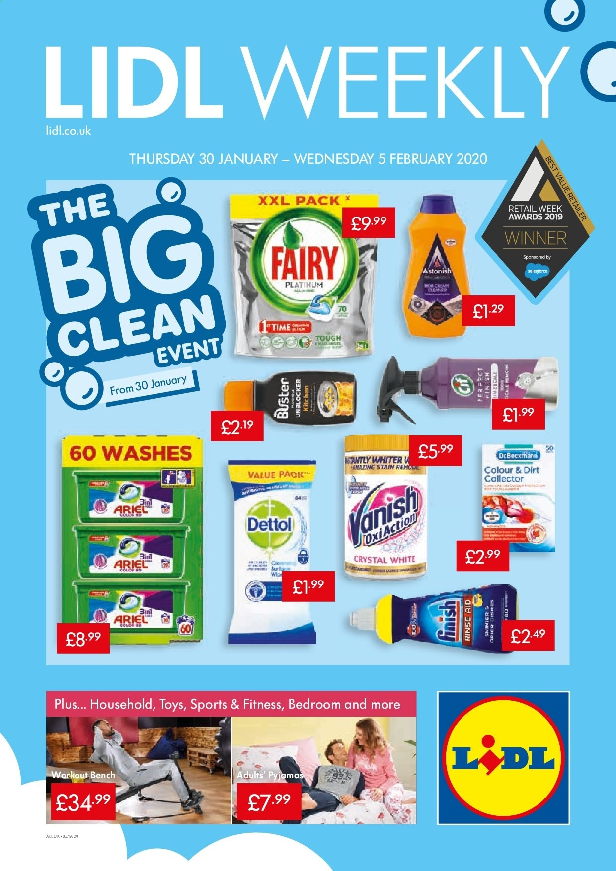 Lidl offer  - 30.1.2020 - 5.2.2020. Page 1.