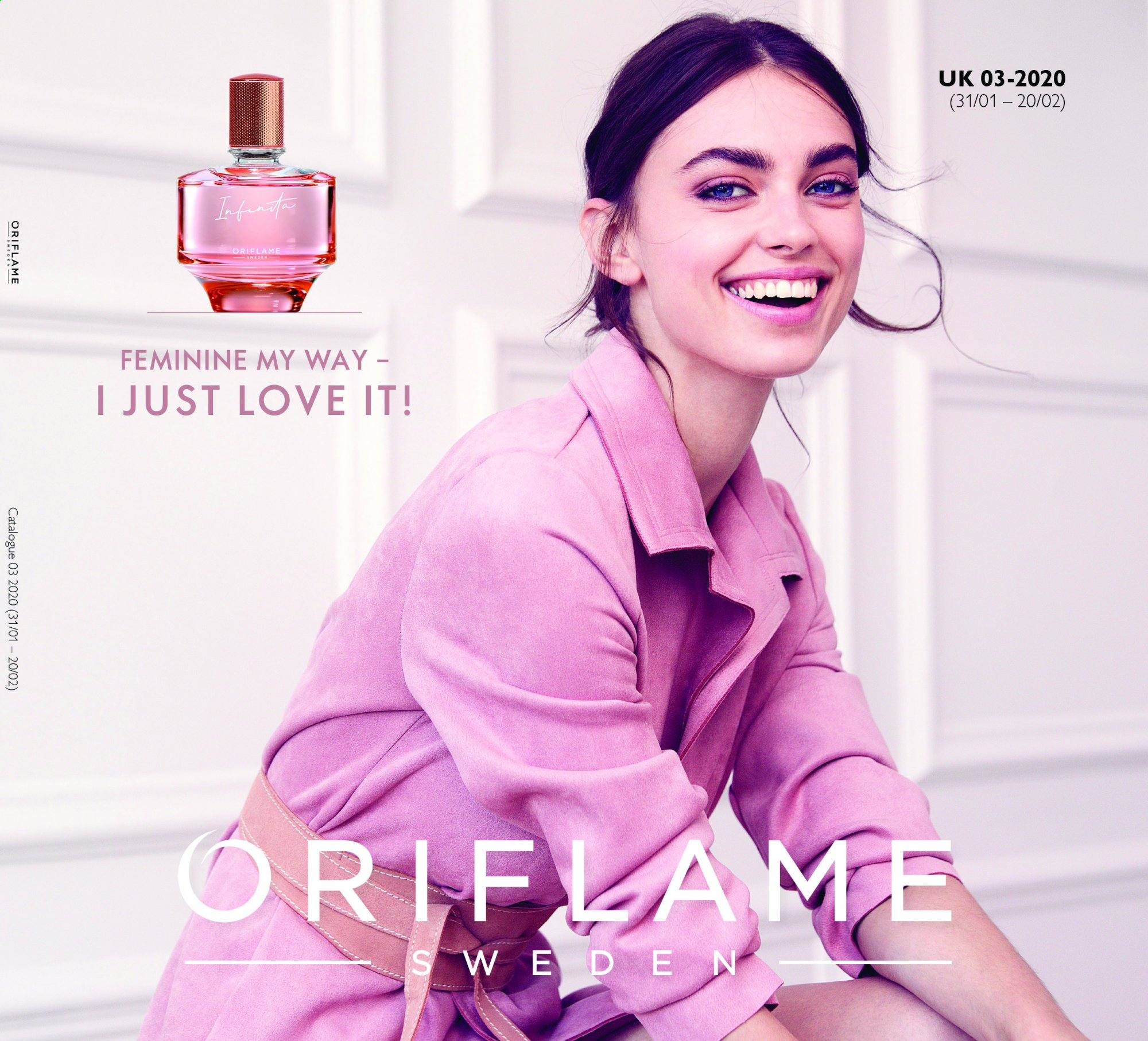Oriflame offer  - 31.1.2020 - 20.2.2020. Page 1.