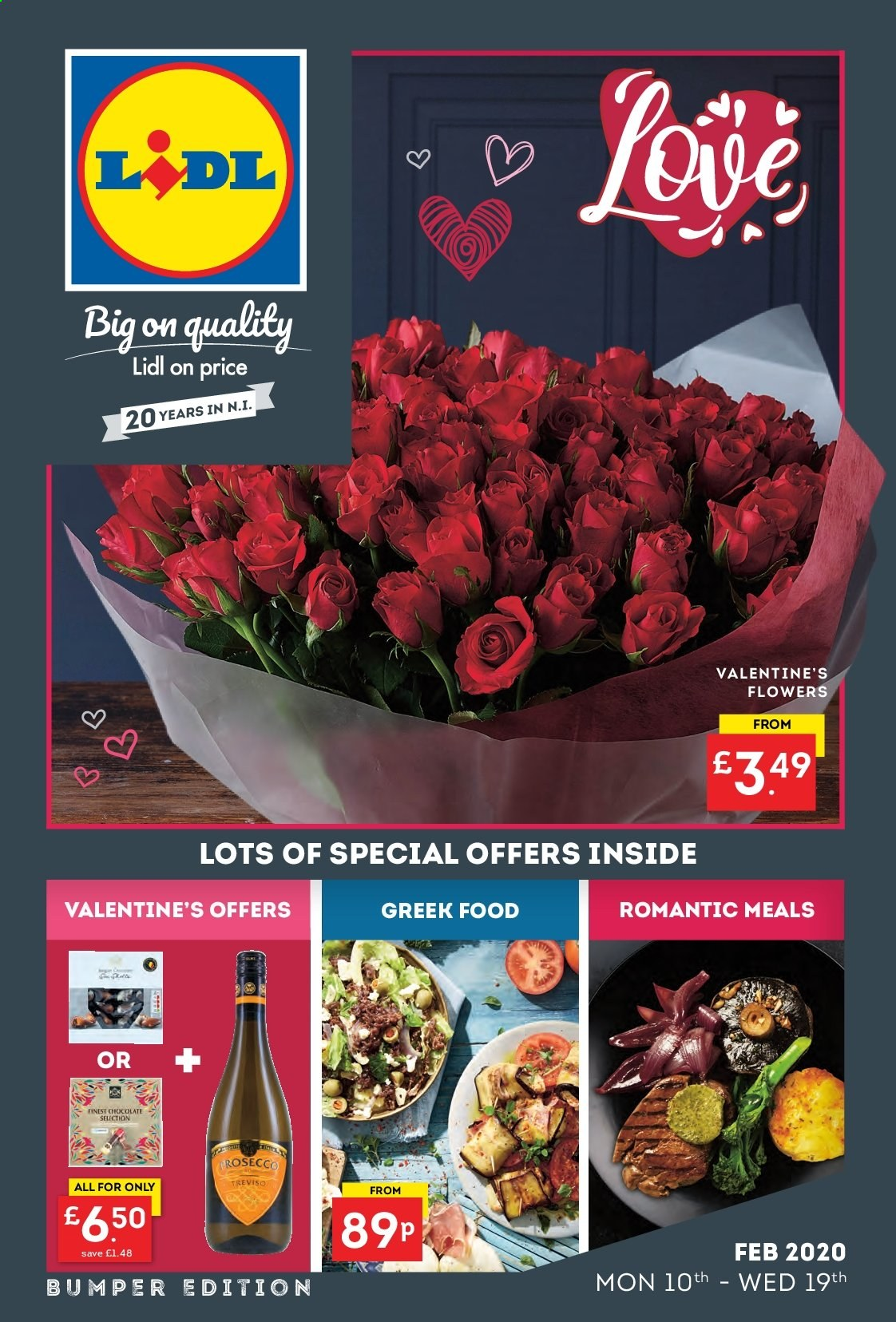 Lidl offer  - 10.2.2020 - 19.2.2020. Page 1.