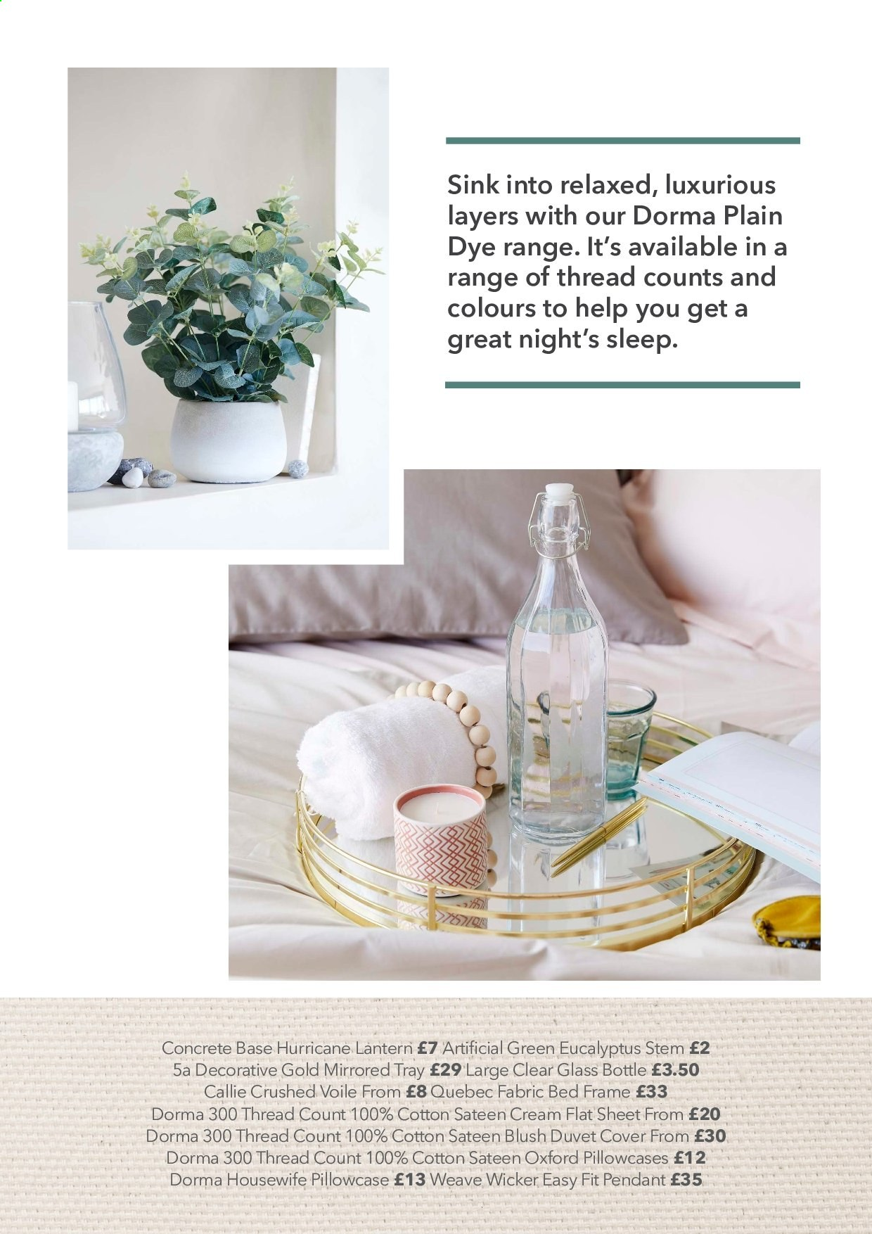 Dunelm offer . Page 6.
