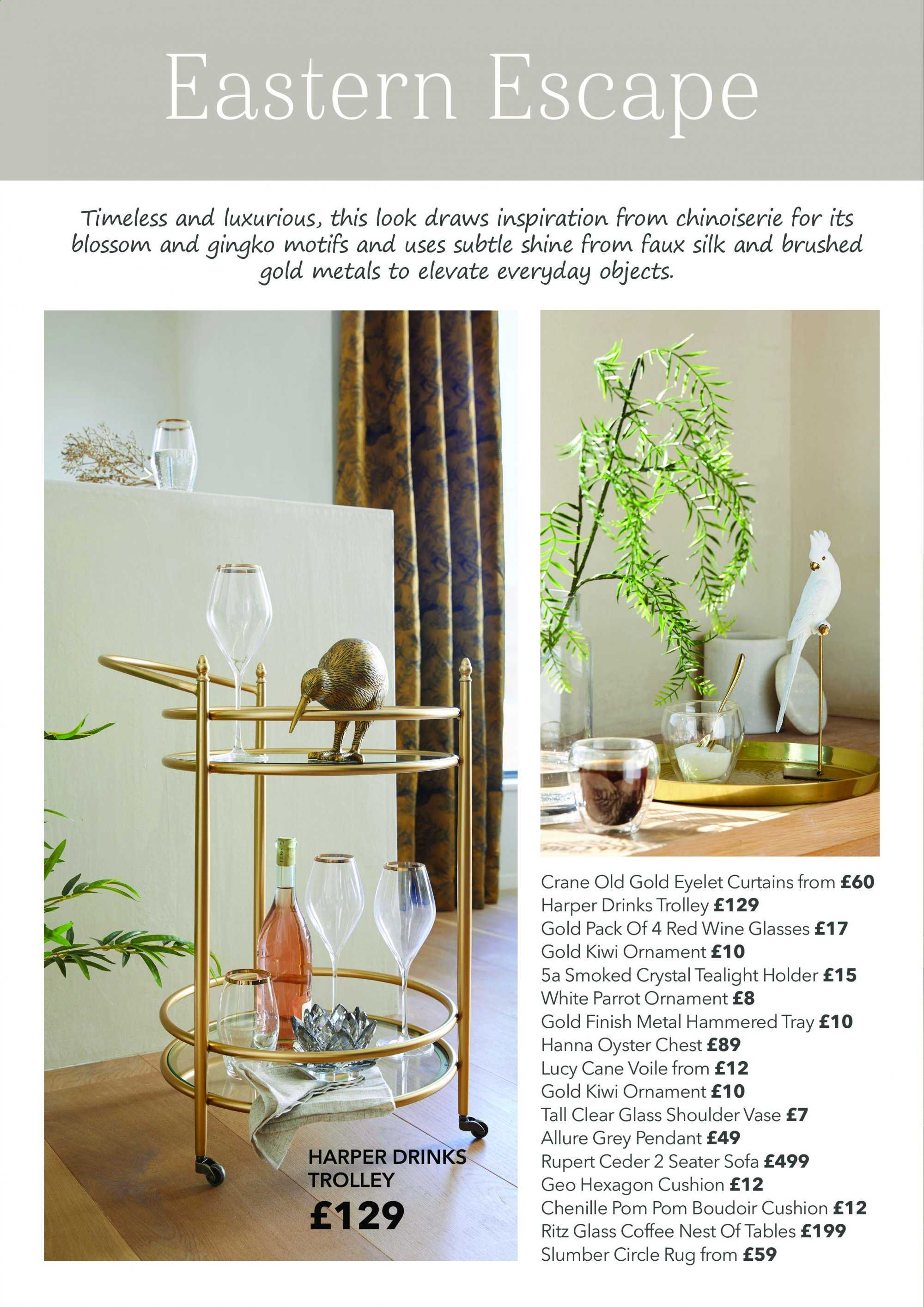Dunelm offer . Page 14.