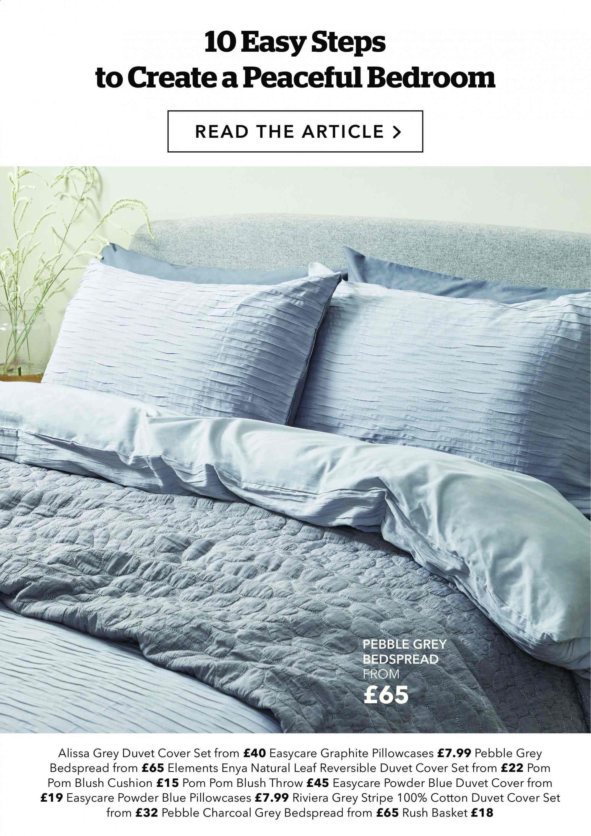 Dunelm offer . Page 20.
