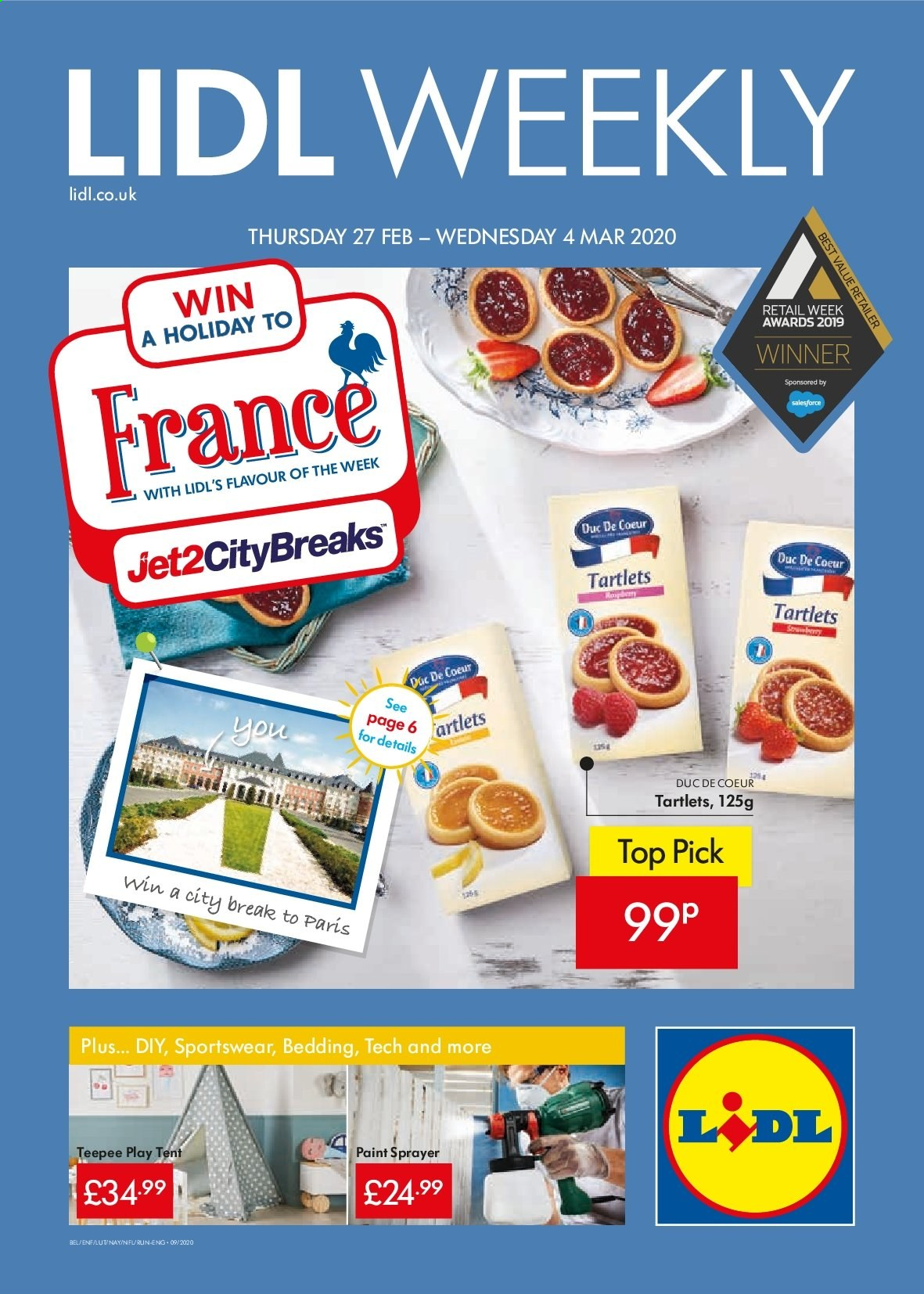 Lidl offer  - 27.2.2020 - 4.3.2020. Page 1.