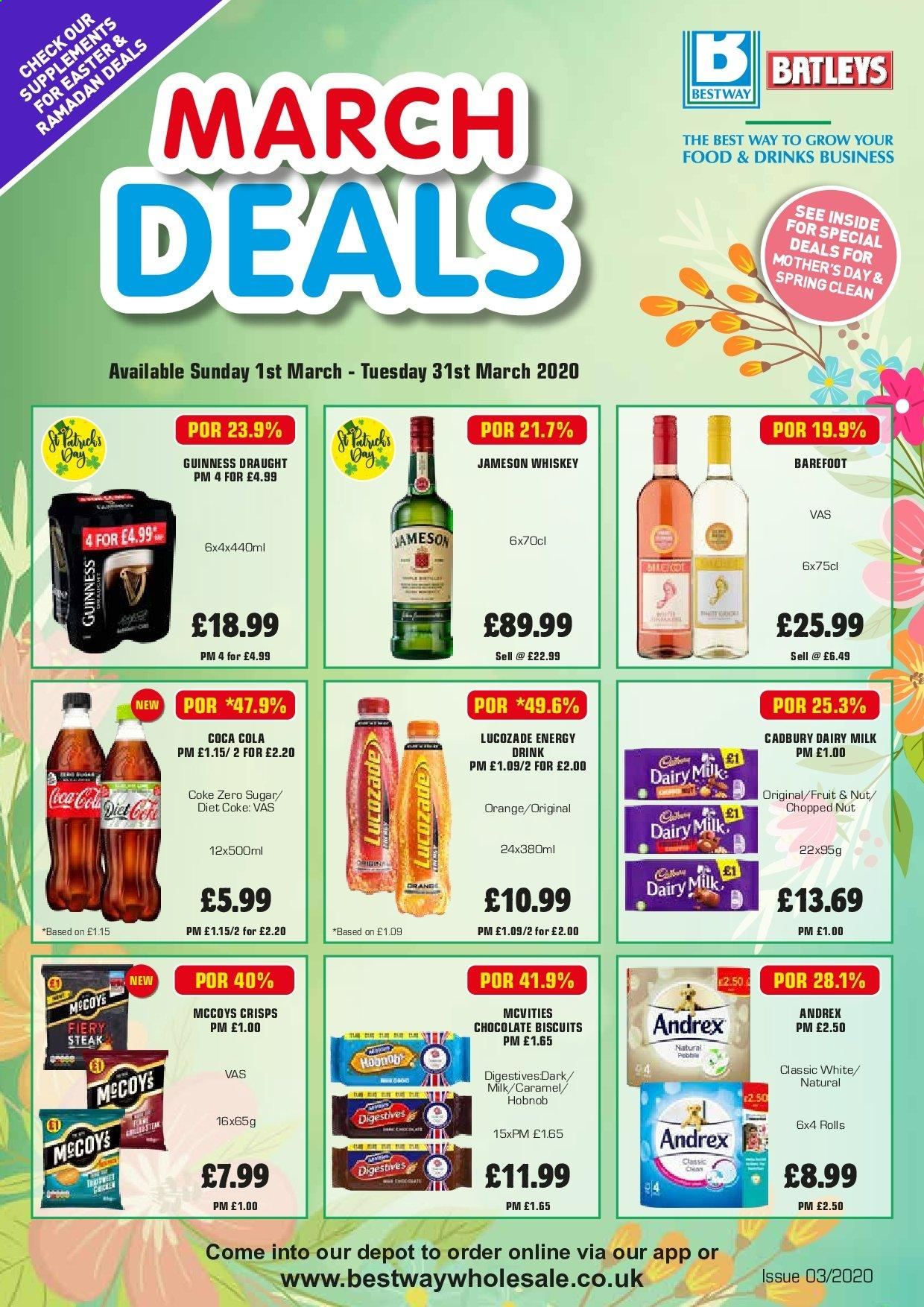 Bestway offer  - 1.3.2020 - 31.3.2020. Page 1.