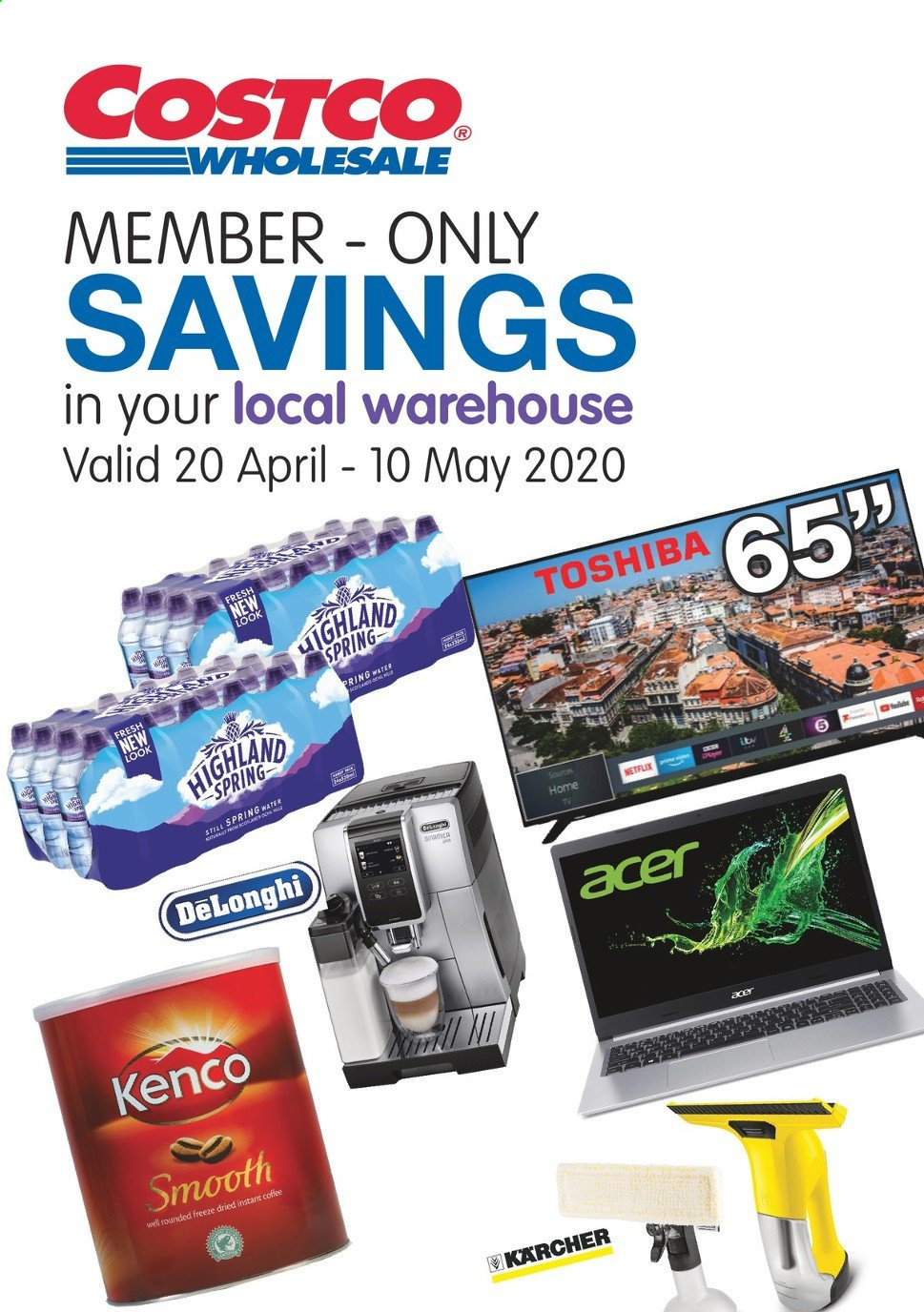 Costco offer  - 20.4.2020 - 10.5.2020. Page 1.