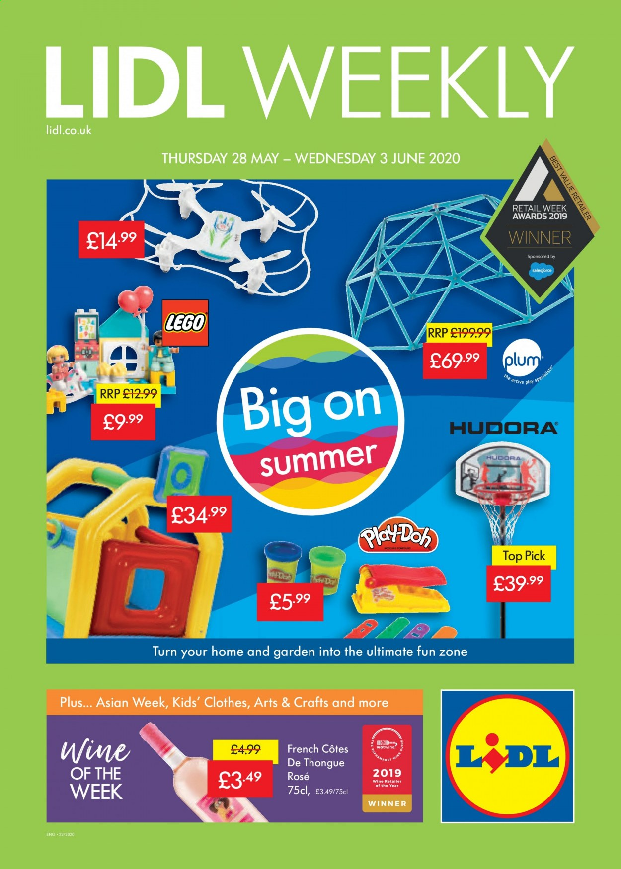 Lidl offer  - 28.5.2020 - 3.6.2020. Page 1.
