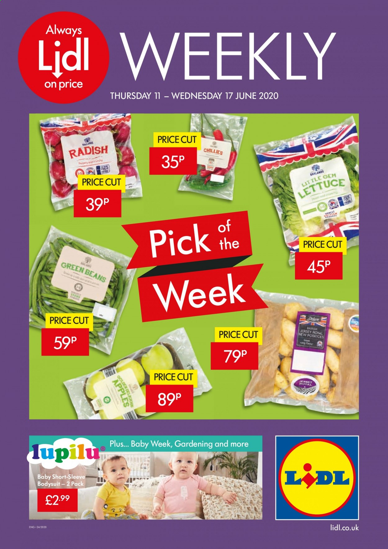 Lidl offer  - 11.6.2020 - 17.6.2020. Page 1.