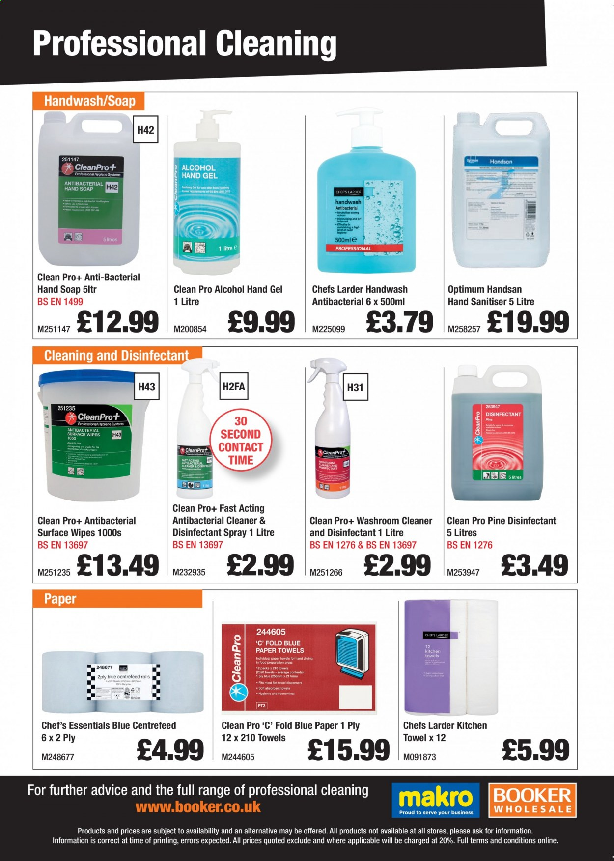 Makro offer . Page 1.