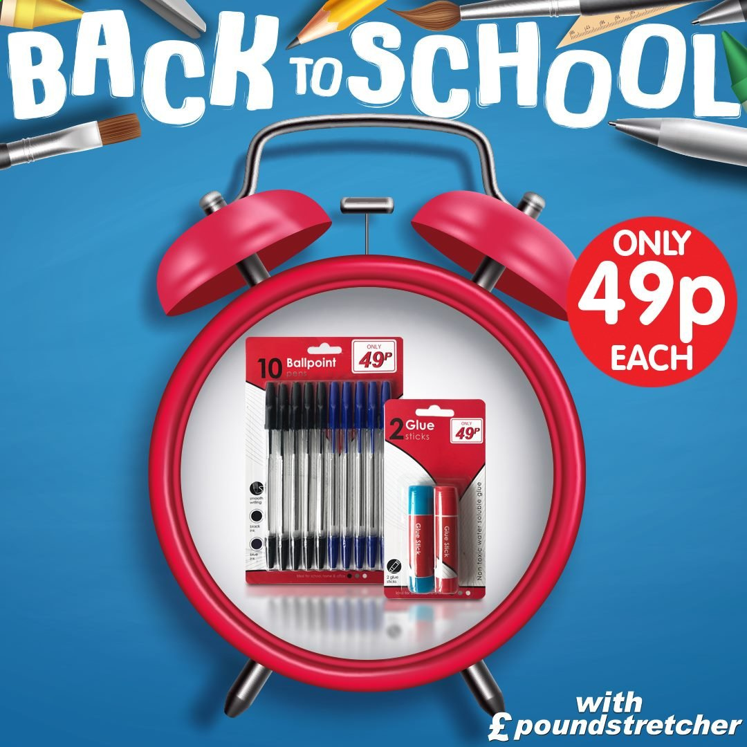 Poundstretcher offer  - Sales products - glue. Page 20.