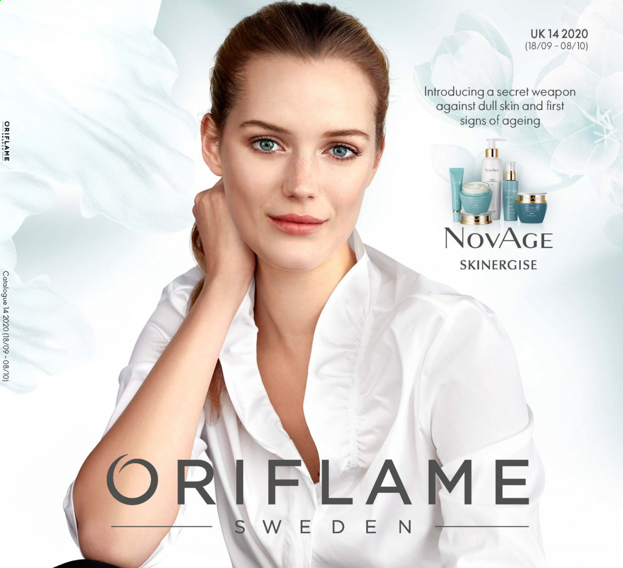 Oriflame offer  - 18.9.2020 - 8.10.2020 - Sales products - secret. Page 1.