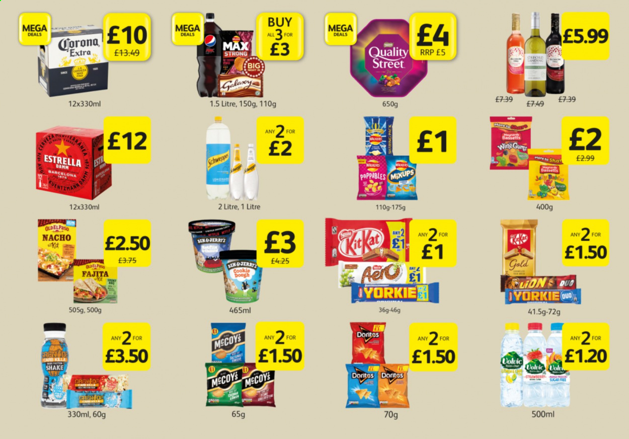 Londis offer  - 29.9.2020 - 1.11.2020 - Sales products - cookie dough, corona extra, wine, corona, sugar free, damm. Page 1.
