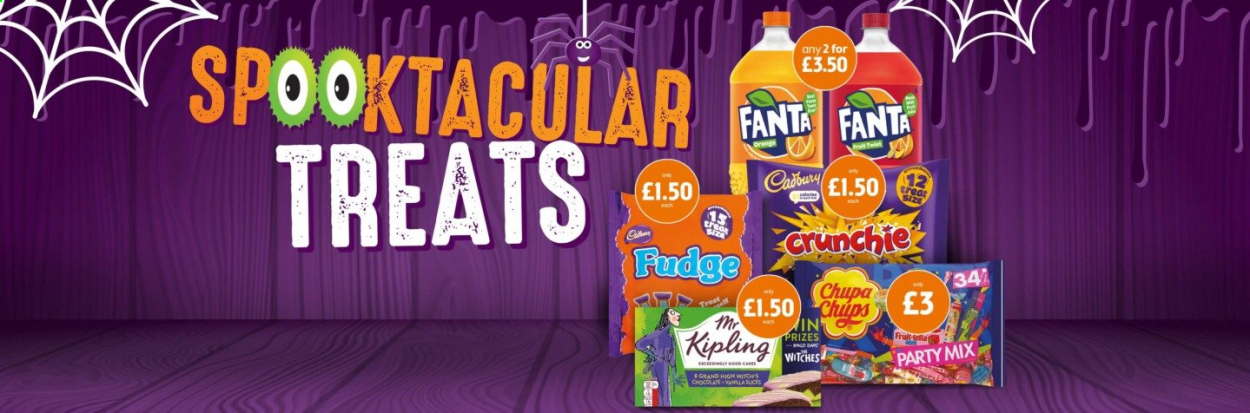 McColl's offer  - Sales products - fudge, fanta, Fruit. Page 9.