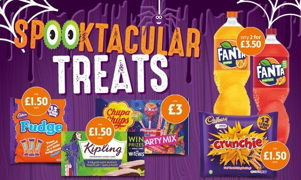 McColl's offer  - Sales products - fudge, fanta. Page 2.