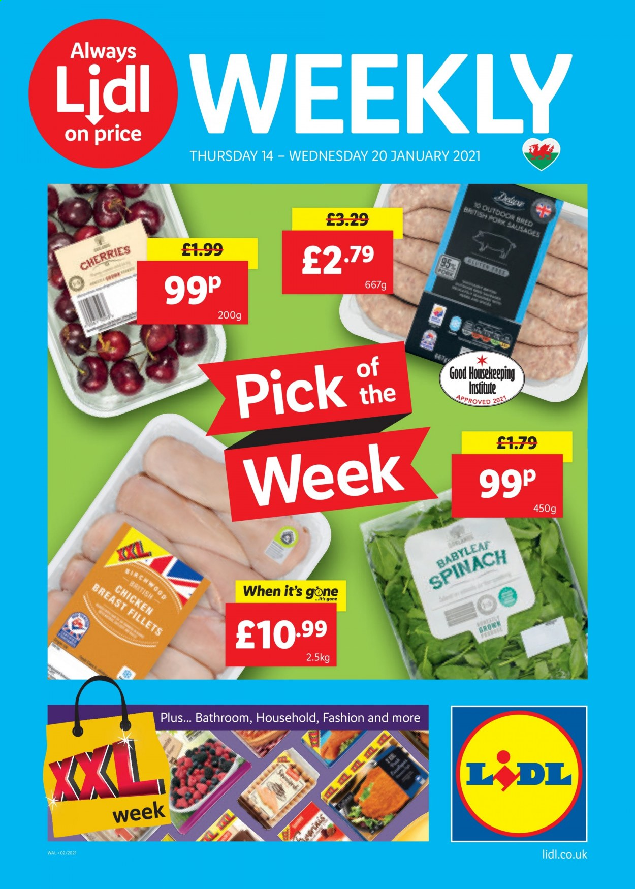 Lidl offer  - 14.1.2021 - 20.1.2021. Page 1.