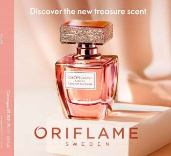 Oriflame offer  - 19.3.2021 - 8.4.2021.