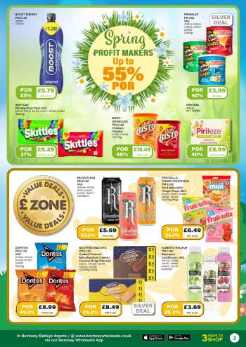 Bestway offer  - 26.3.2021 - 22.4.2021.