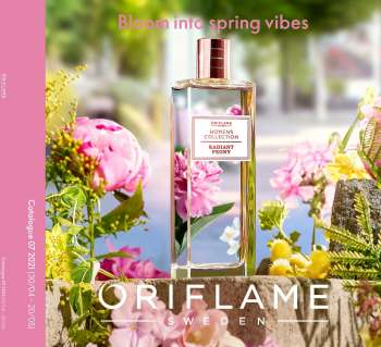 Oriflame offer  - 30.4.2021 - 20.5.2021.