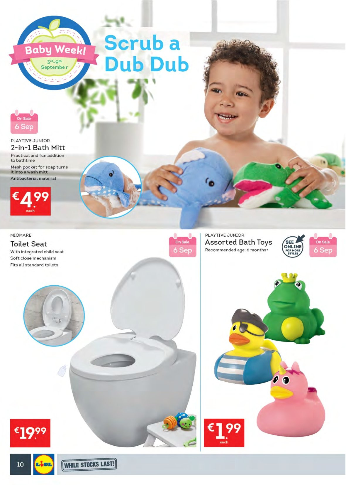 Lidl offer  - 3.9.2018 - 9.9.2018 - Sales products - soap, toilet. Page 14.