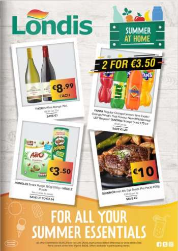 Londis offer  - 6.5.2021 - 26.5.2021.