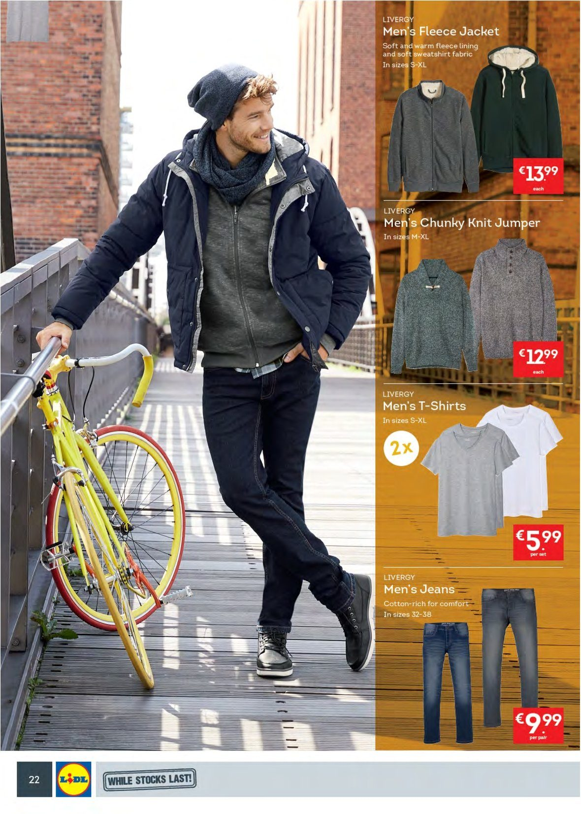 Lidl offer  - 10.9.2018 - 16.9.2018 - Sales products - jeans, jacket, t-shirt. Page 26.