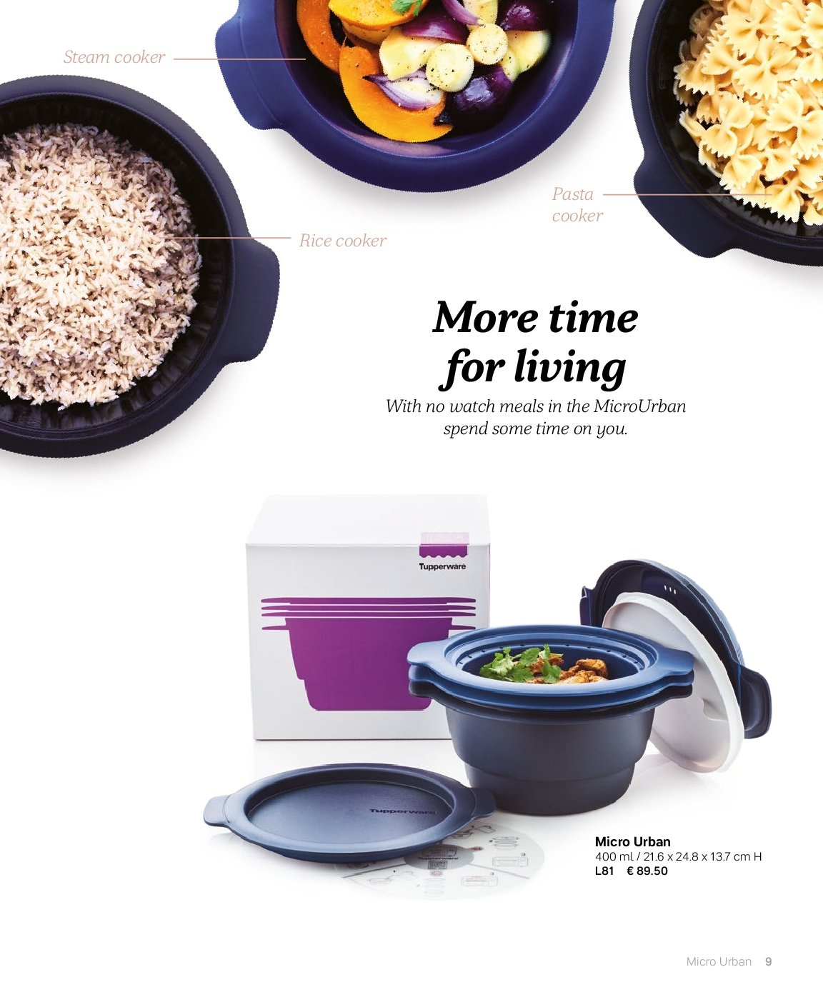 Tupperware offer  - 3.9.2018 - 28.2.2019. Page 9.