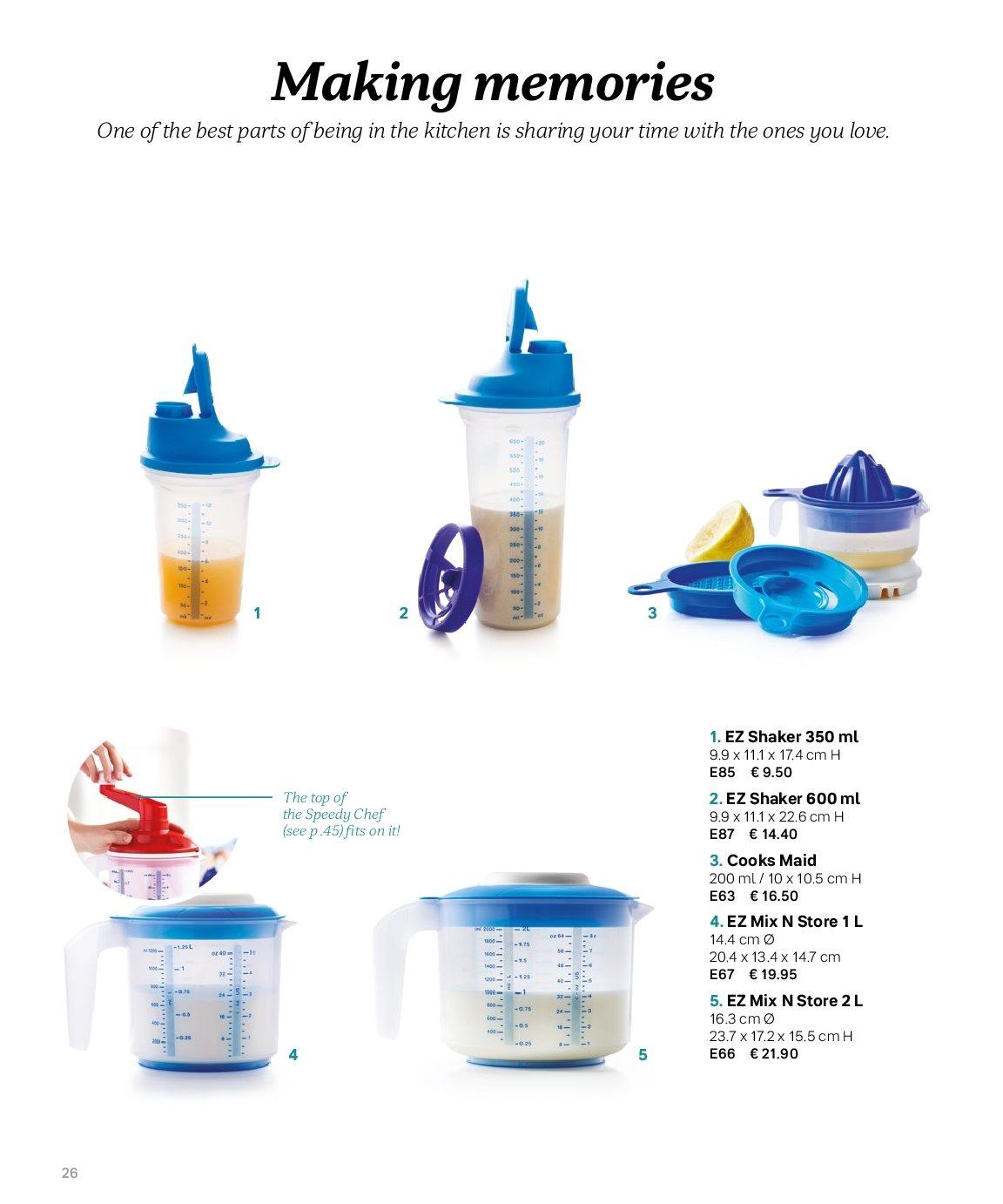 Tupperware offer  - 3.9.2018 - 28.2.2019. Page 26.
