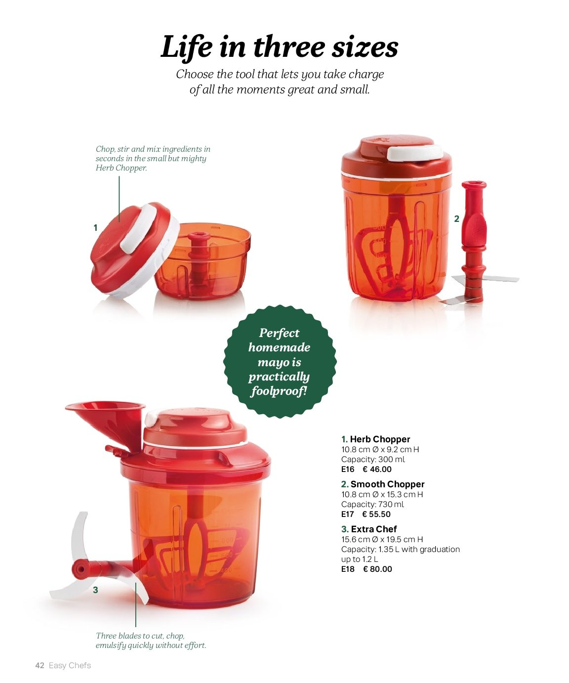 Tupperware offer  - 3.9.2018 - 28.2.2019. Page 42.