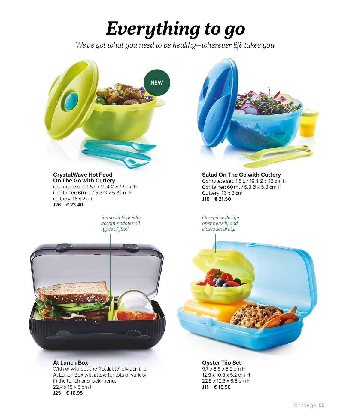 Tupperware offer  - 3.9.2018 - 28.2.2019. Page 55.