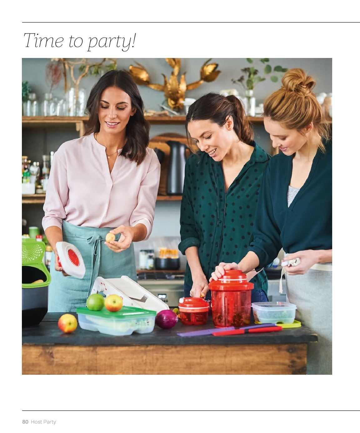 Tupperware offer  - 3.9.2018 - 28.2.2019. Page 80.