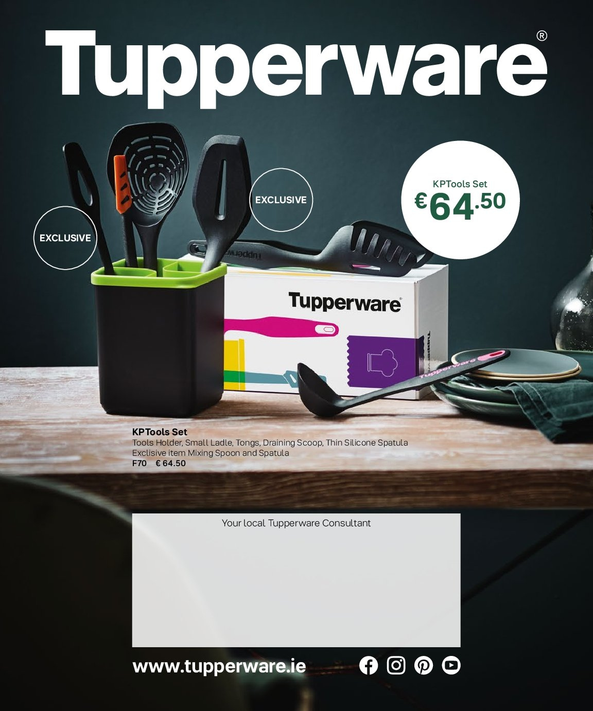 Tupperware offer  - 3.9.2018 - 28.2.2019. Page 84.