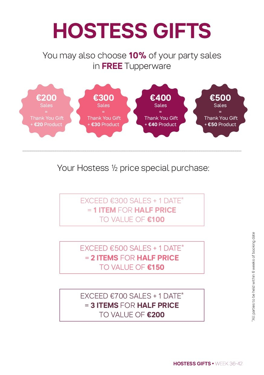 Tupperware offer  - 3.9.2018 - 21.10.2018. Page 11.