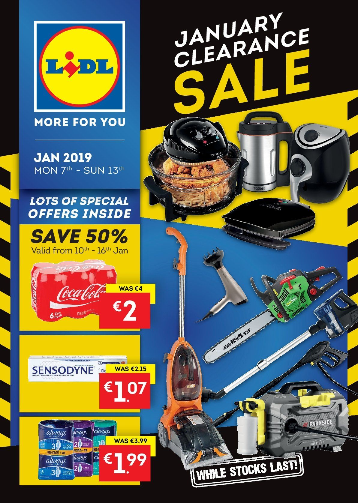 Lidl offer  - 7.1.2019 - 13.1.2019. Page 1.