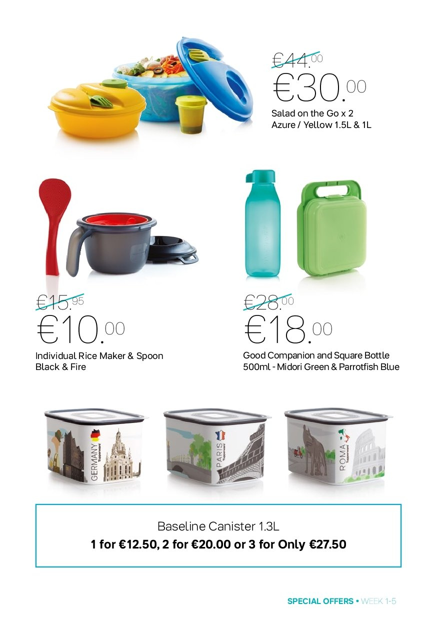 Tupperware offer  - 31.12.2018 - 3.2.2019. Page 5.