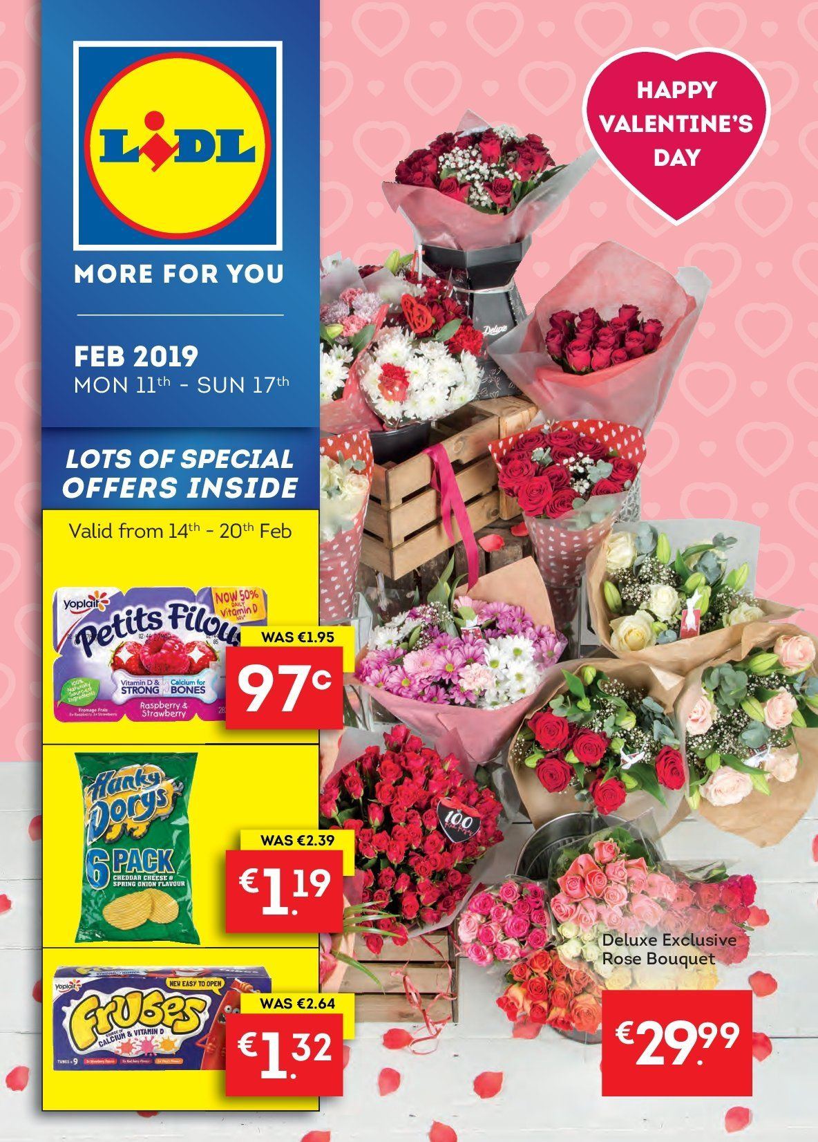 Lidl offer  - 11.2.2019 - 17.2.2019. Page 1.