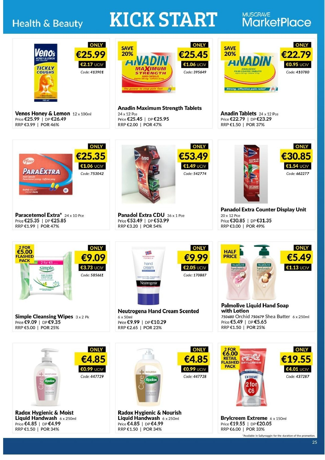 MUSGRAVE Market Place offer  - 17.2.2019 - 16.3.2019 - Sales products - honey, hand wash, soap. Page 24.