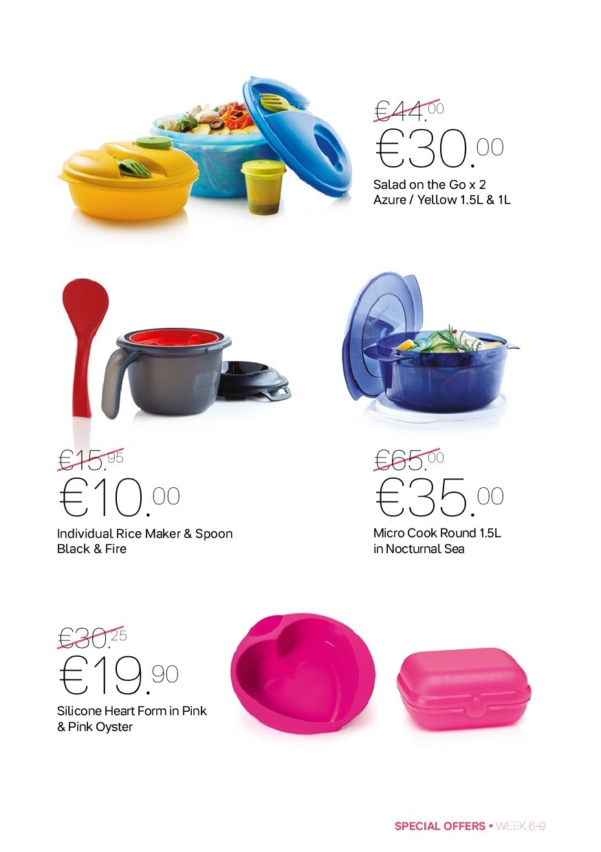 Tupperware offer  - 4.2.2019 - 3.3.2019 - Sales products - spoon. Page 5.