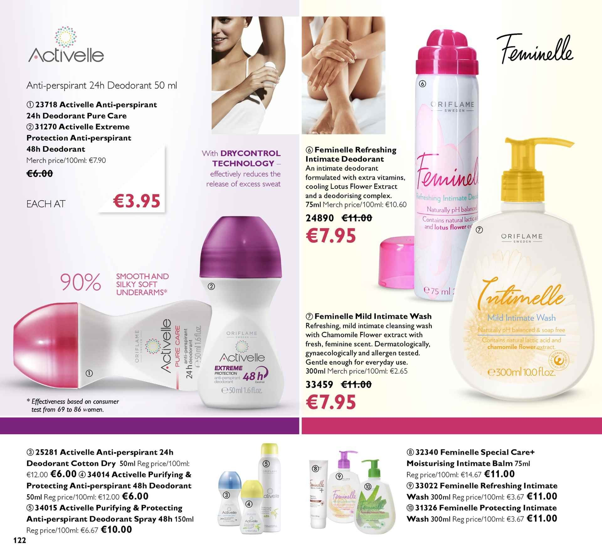 7eae3ecb4f Oriflame offer - 1.3.2019 - 21.3.2019 - Sales products - anti-
