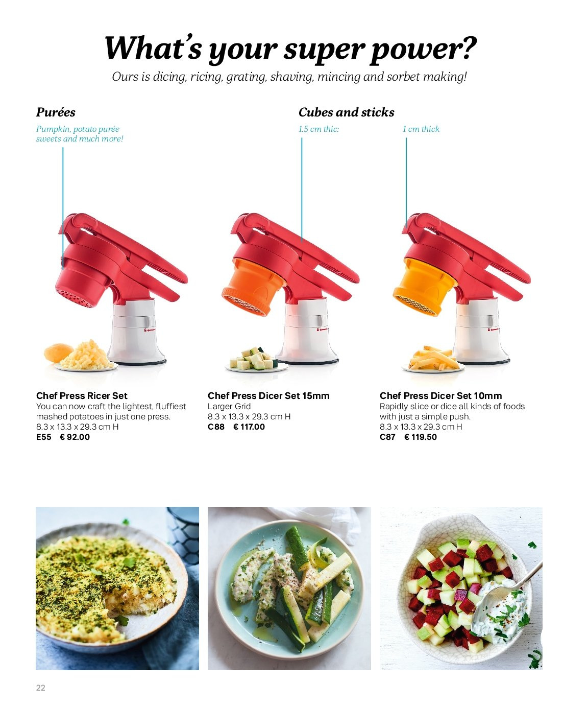 Tupperware offer . Page 22.