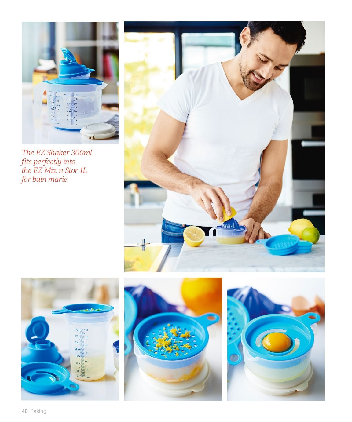 Tupperware offer . Page 40.