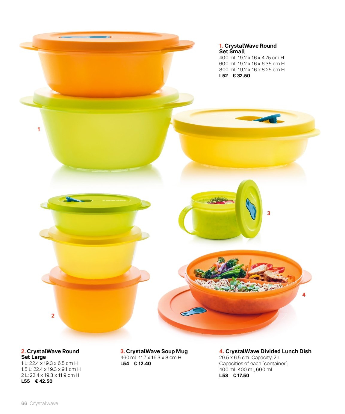 Tupperware offer . Page 66.