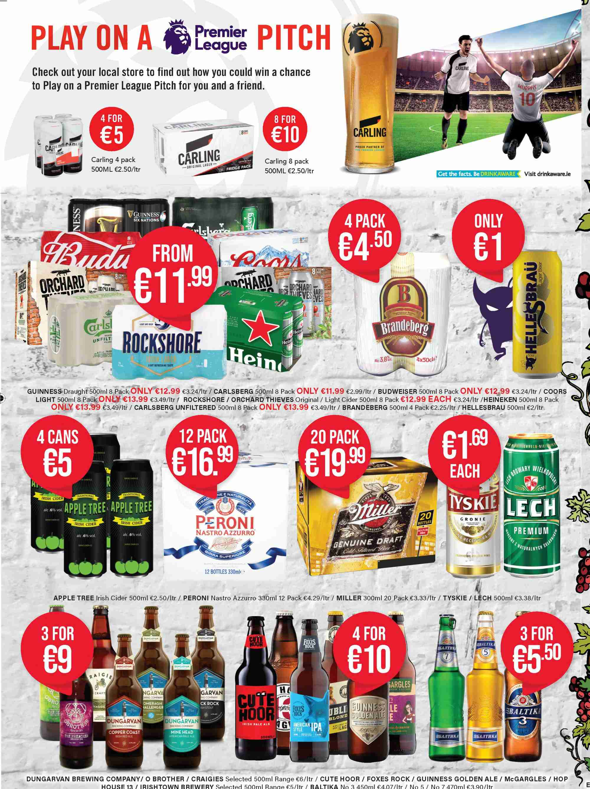 Carry Out offer  - 7.3.2019 - 17.4.2019 - Sales products - ale, apple, budweiser, tree, head, car. Page 2.