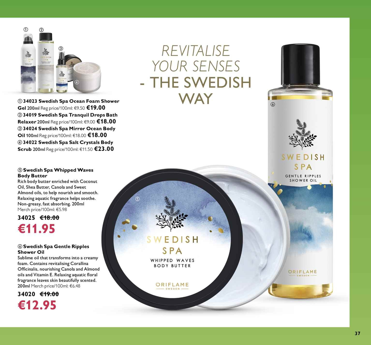 8778638f44d Oriflame offer - 22.3.2019 - 11.4.2019 - Sales products - bath,