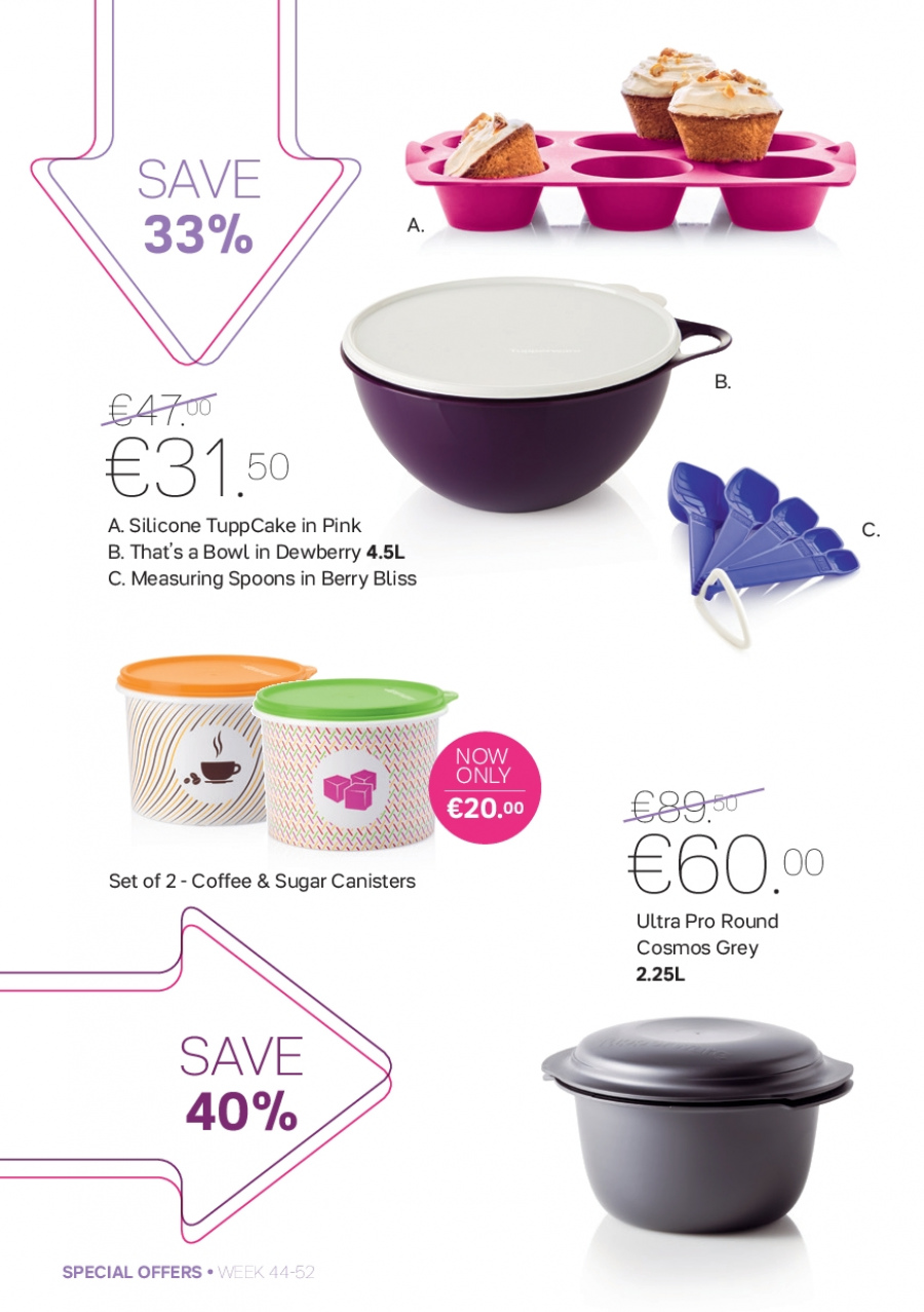 Tupperware offer  - 30.10.2017 - 31.12.2017. Page 4.
