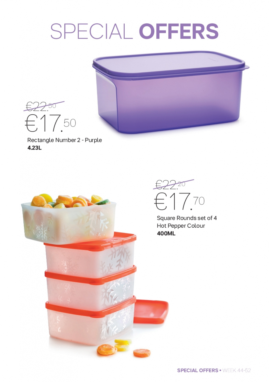Tupperware offer  - 30.10.2017 - 31.12.2017. Page 5.