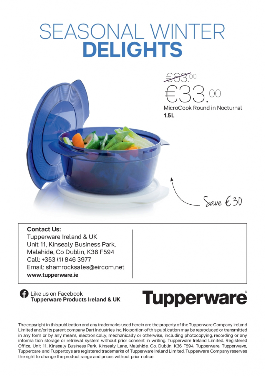 Tupperware offer  - 30.10.2017 - 31.12.2017. Page 8.