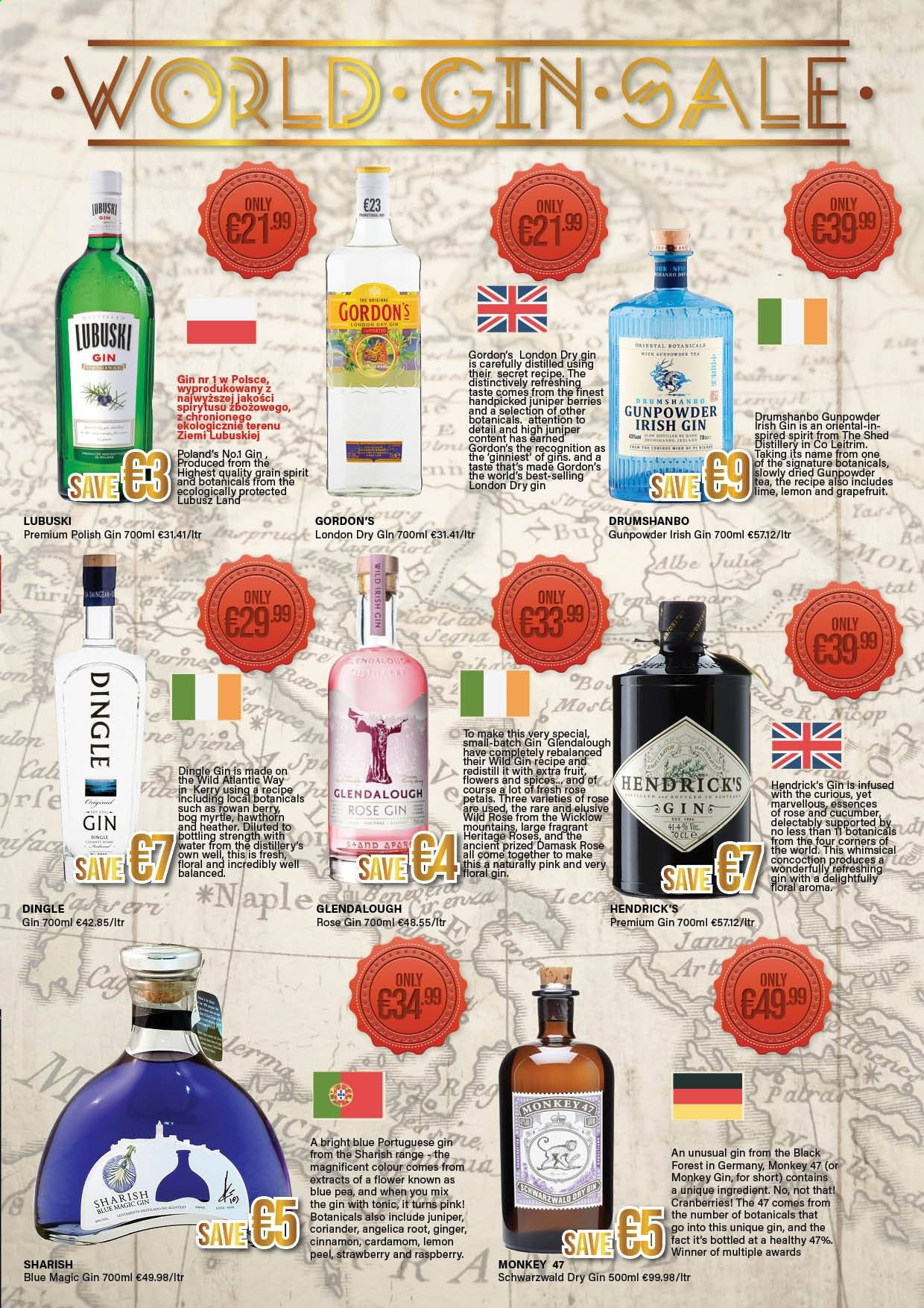 Carry Out offer  - 18.4.2019 - 29.5.2019 - Sales products - cranberries, gin, rare, secret, pin, polish, roses, monkey. Page 3.